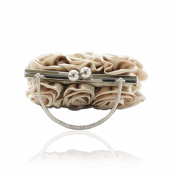 Amazon.com: Kingluck - Bolsos de mano de seda, diseño de ...
