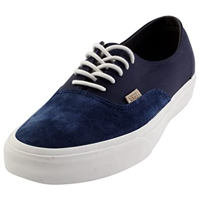 Vans Men Authentic Deconstructed DX - Pig Suede (Navy Parisian Night) e1c216984