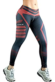 faaa7c141c COCOLEGGINGS Womens Skinny Stretchy Yoga Pants Active Workout Leggings  Tights