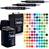 Wicked Markers Double-Ended Art Markers Complete Set - 120
