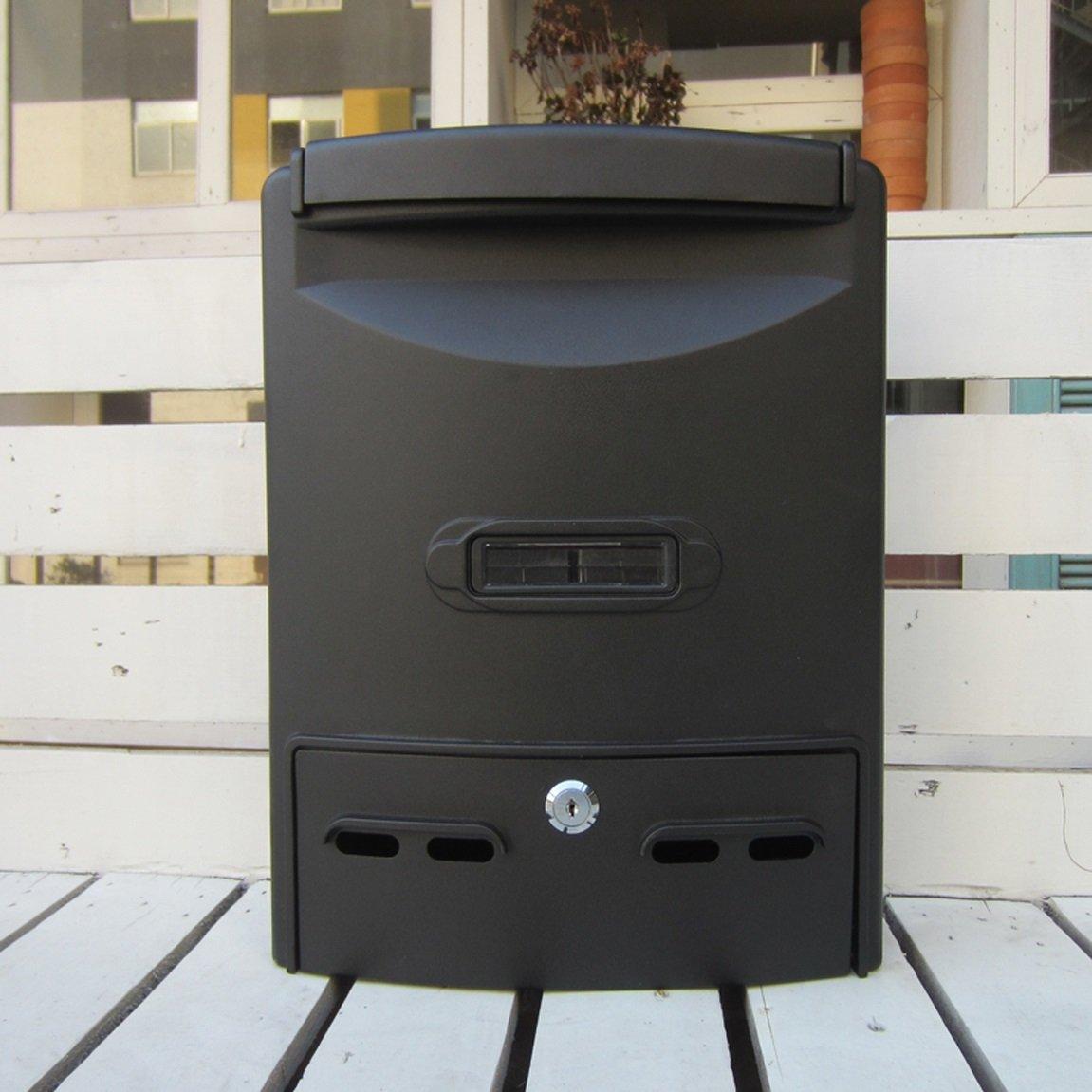 TLMY ヨーロッパの郵便箱防水と防水屋外のメールボックスゼネラルマネージャーの提案箱の壁の回収ボックス メールボックス   B07JCMT11N