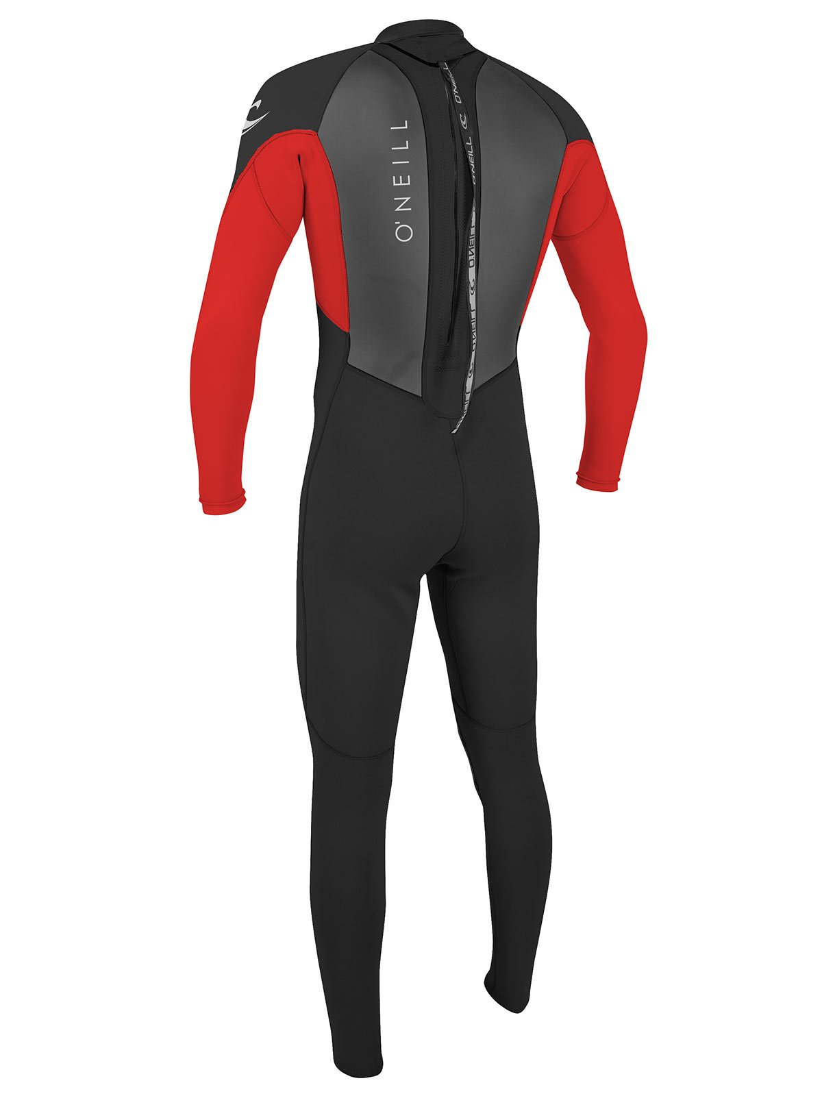 O'Neill Reactor 2 Kids Full Wetsuit 4 Black/red (5044IS) by O'Neill Wetsuits (Image #3)