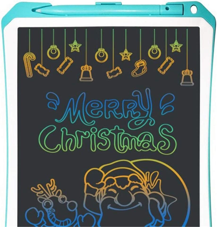 Color : Blue, Size : 11 inches XUROM LCD Writing Tablet 11 Inch Macaron Color LCD Writing Tablet Childrens Drawing Writing Board 2 Cdolors for Friends Birthday Home Office Speech Difficulti