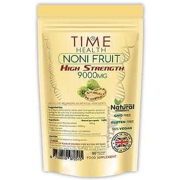 Noni Fruit Extract 9000mg Premium Super High Strength Maximum