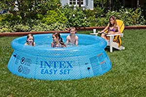 INTEX 54910 Easy Set Clearview - Piscina hinchable (76 x 244 cm )