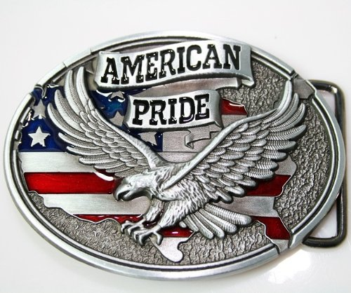 Pansy New American Pride Us Flag Soaring Eagle Belt Buckle Wt093 Eagle Belt Buckle