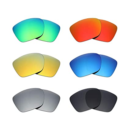 627c9b17cf Image Unavailable. Image not available for. Color  Mryok 6 Pair Polarized  Replacement Lenses for Oakley TwoFace XL ...