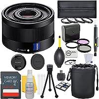 Sony Sonnar T FE 35mm f/2.8 ZA Full Frame E-Mount Lens + Deluxe Lens Bundle