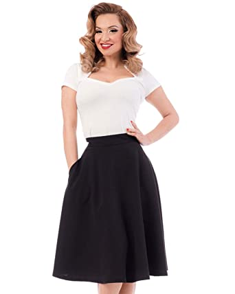 570c9ab9e Amazon.com: Steady Clothing Women's Thrills High Waist Skirt Black ...