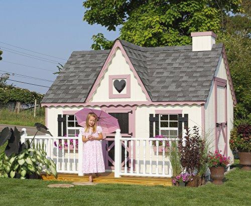 (Little Cottage Company Victorian DIY Playhouse Kit, 8' x 12')