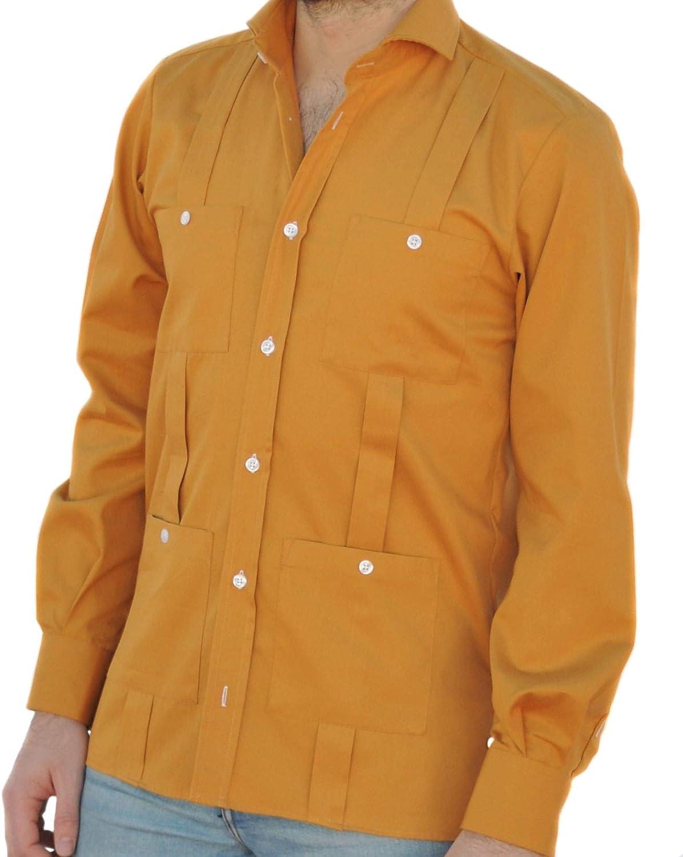 Camisa Guayabera Caballero Albero (S): Amazon.es: Ropa y ...