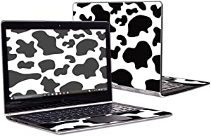 """MightySkins Skin Compatible with Lenovo Yoga 900 13.3"""" Screen wrap Cover Sticker Skins Cow Print"""
