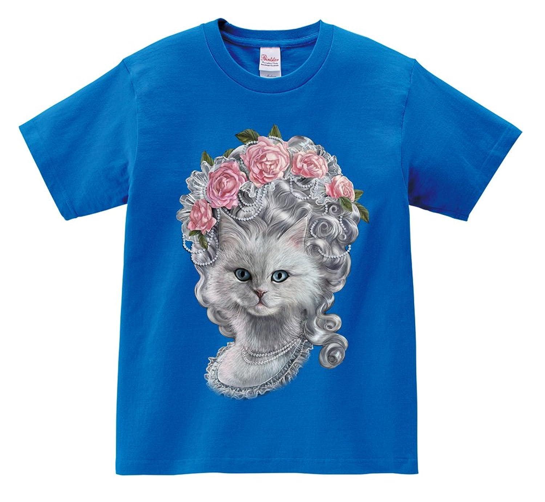 Short Sleeve T-Shirt - Queen Feline Antoinette Pouf