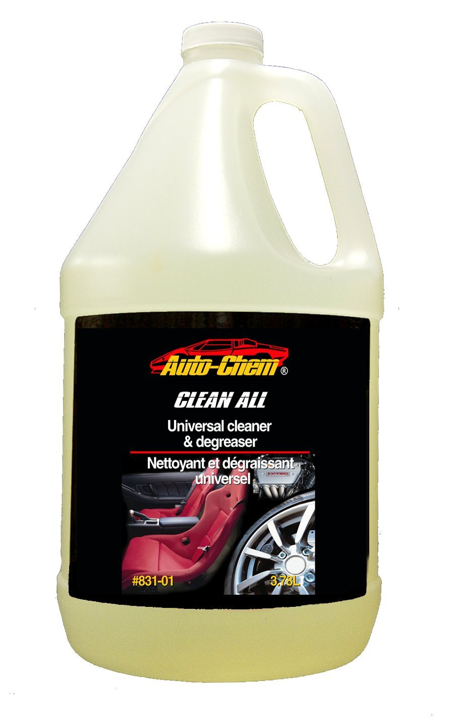 Auto-Chem Professional (831-01) - HD CLEAN ALL - Heavy Duty Universal Cleaner & Degreaser-Concentrated for Engines, Tires and Rims 1 Gallon Auto-Chem Direct