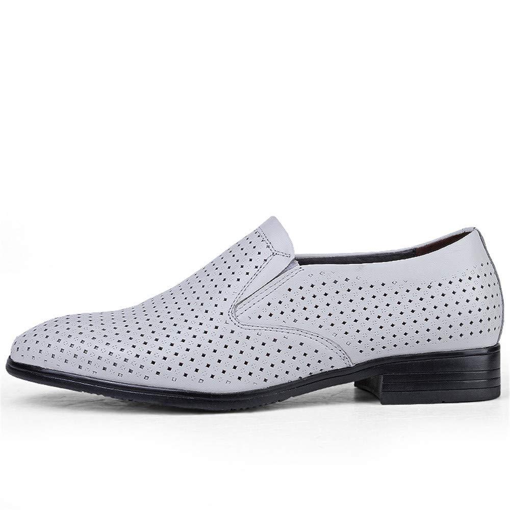 Fang schuhe, 2018 Herren Business Oxford Casual Größe des Codes Formelle British Leder und ausgehöhlten Formelle Codes Schuhe (Farbe : Hohles Weiß, Größe : 48 EU) cfd05d