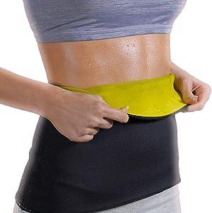 New Women Lady Body Shaper Slim Waist Belt Trimmer Corset Yoga Sweat Shapers Hot // Size:L