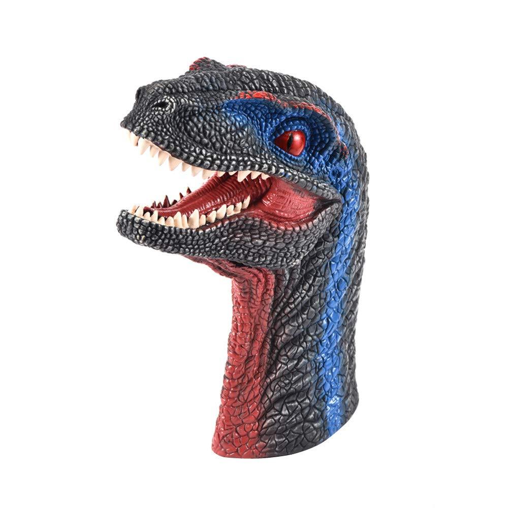 Yliquor 恐竜 ハンドパペット ラバー 恐竜 ラプター ヘッド おもちゃ パーティー カーニバル ハロウィーン デコレーション ギフト B07J2DZND6