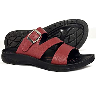 9c6daae1639c AEROTHOTIC Orthotic Comfort Slip On Sandals and Flip Flops with Arch  Support for Comfortable Walk (