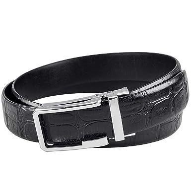 Big Buckle Belt For Gentlemen Wild Boar Design Fashionable Wide Straps Accessory