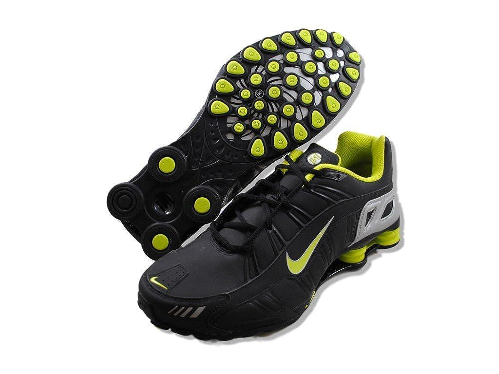 Amazon.com | Nike Shox Turbo 3.2 SL Mens Running Shoes 455541-030 Black 6 M US | Running