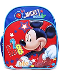 Disney Mickey Mouse M28 10 Toddler Backpack-A07644