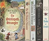 MICHAEL JECKS - Set Of 5 Books - The Sticklepath Strangler - The Tolls Of Death - No Law In The Land - Belladonna At Belstone - The Boy-Bishop's Glovemaker.