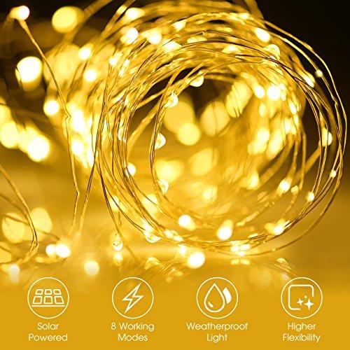 Декорация Mpow Solar String Lights,