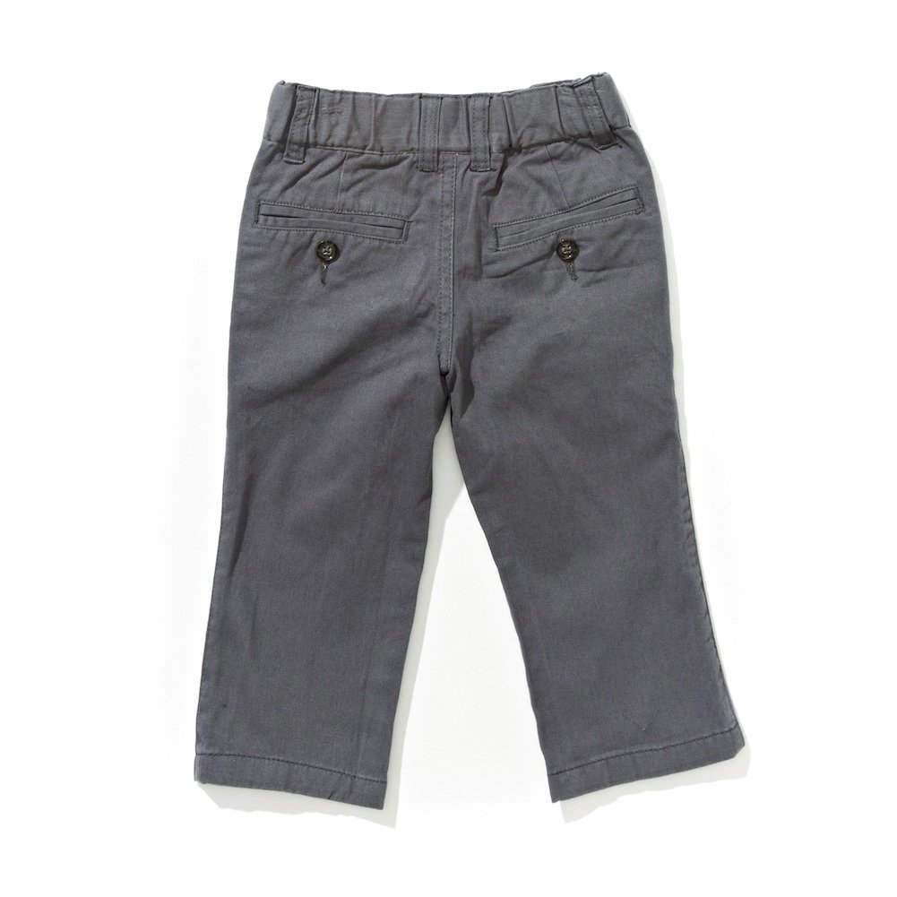 Lazoo Boys Basic Grey Twill Pant