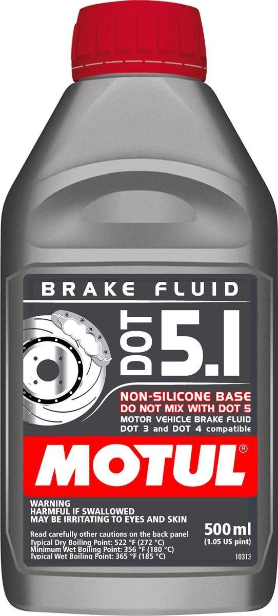 Motul Brake fluid, DOT 5.1 (N-S) - 500ml (10) by Motul