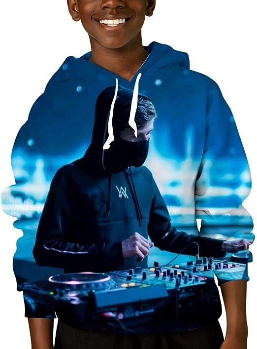 Fleece Pull Over Sweatshirt for Boys Girls Kids Youth Dj Unisex Toddler Hoodies