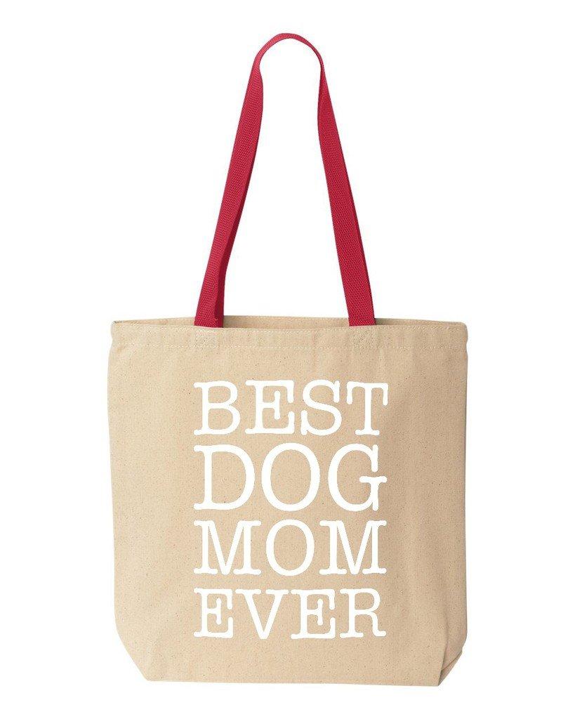 最高の品質の 犬shop4ever Best Mom EverコットンキャンバストートバッグAnimal Lover再利用可能なショッピングバッグ10 oz色付きハンドル Mom 10 oz B06XX3RYKL oz ブラック S4E_1215_BestDogMom_TB_8868_Black_2 B06XX3RYKL ナチュラル-レッド ナチュラル-レッド 1, 安達郡:8e65e773 --- mcrisartesanato.com.br