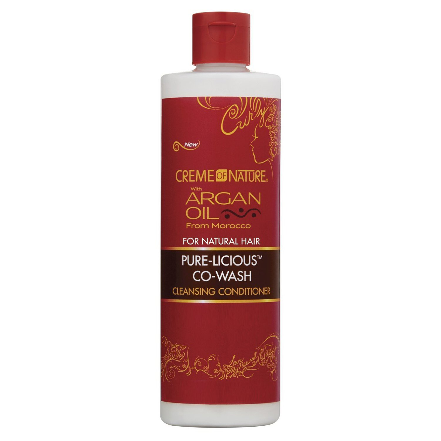 Creme Of Nature Argan Oil Pure-Licious Co-Wash 12 Ounce (354ml)