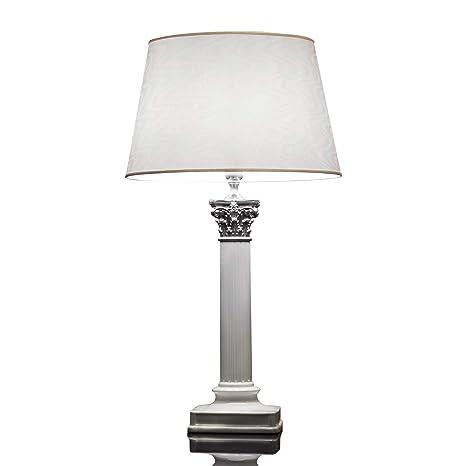 Le Porcellane Encanto Porcelana - Lámpara de mesa (E27, hecho a ...