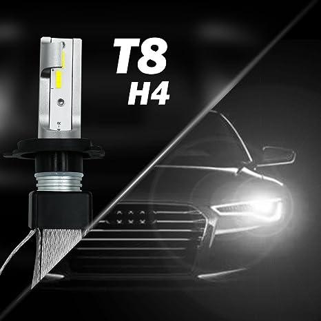 Amazon Com Runmind 2pcs H4 Car Headlight Bulb High Power Bulb 40w