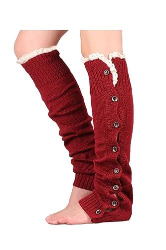 Maglia donna YACUN bottone piatto giù scaldamuscoli Crochet