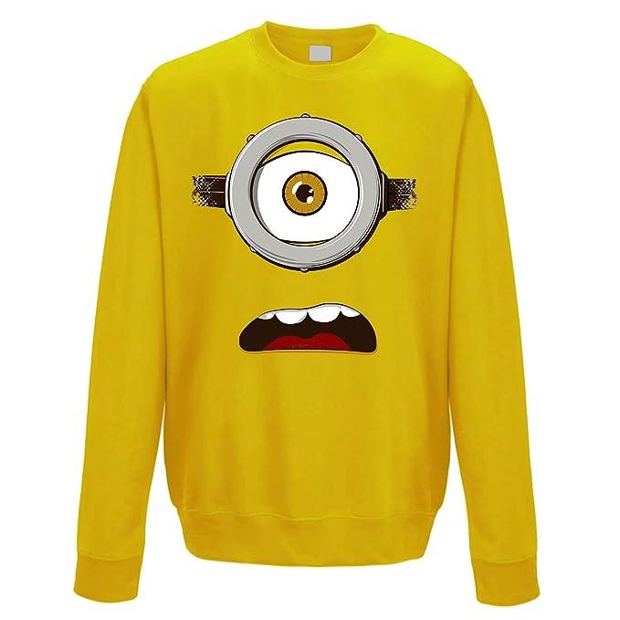 suéter de cuello redondo sudadera hombre banana surprising eye XXL: Amazon.es: Ropa y accesorios