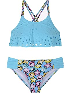 Gossip Girl Big Girls Gypsy Queen Two Piece Tankini Swimsuit