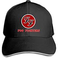 Duanfu Foo Fighters Logo Men's Baseball Cap Adjustable Women's Sport Outdoor Sun hat Unisex Hip Hop Snapback Cap