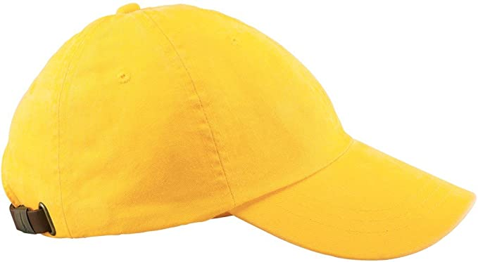 Amazon.com  Adams mens 6-Panel Low-Profile Washed Pigment-Dyed Cap ... e50ff020e928