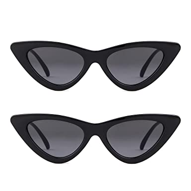 b9bb4661ab37 ADEWU Cateye Sunglasses Clout Goggles Kurt Cobain Outdoor Glasses for Girls  Women: Amazon.co.uk: Clothing