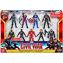 Captain America Civil War Hero vs Hero Faceoff Exclusive Set