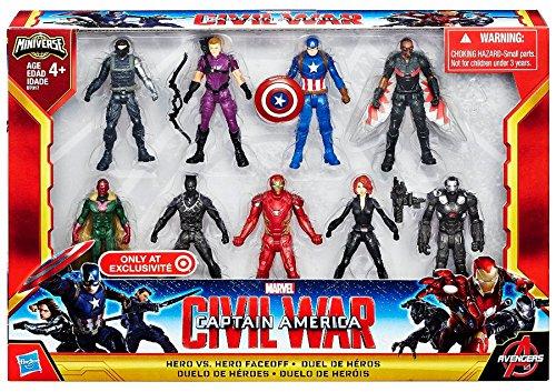 Captain+America Products : Captain America Civil War Hero vs Hero Faceoff Exclusive Set