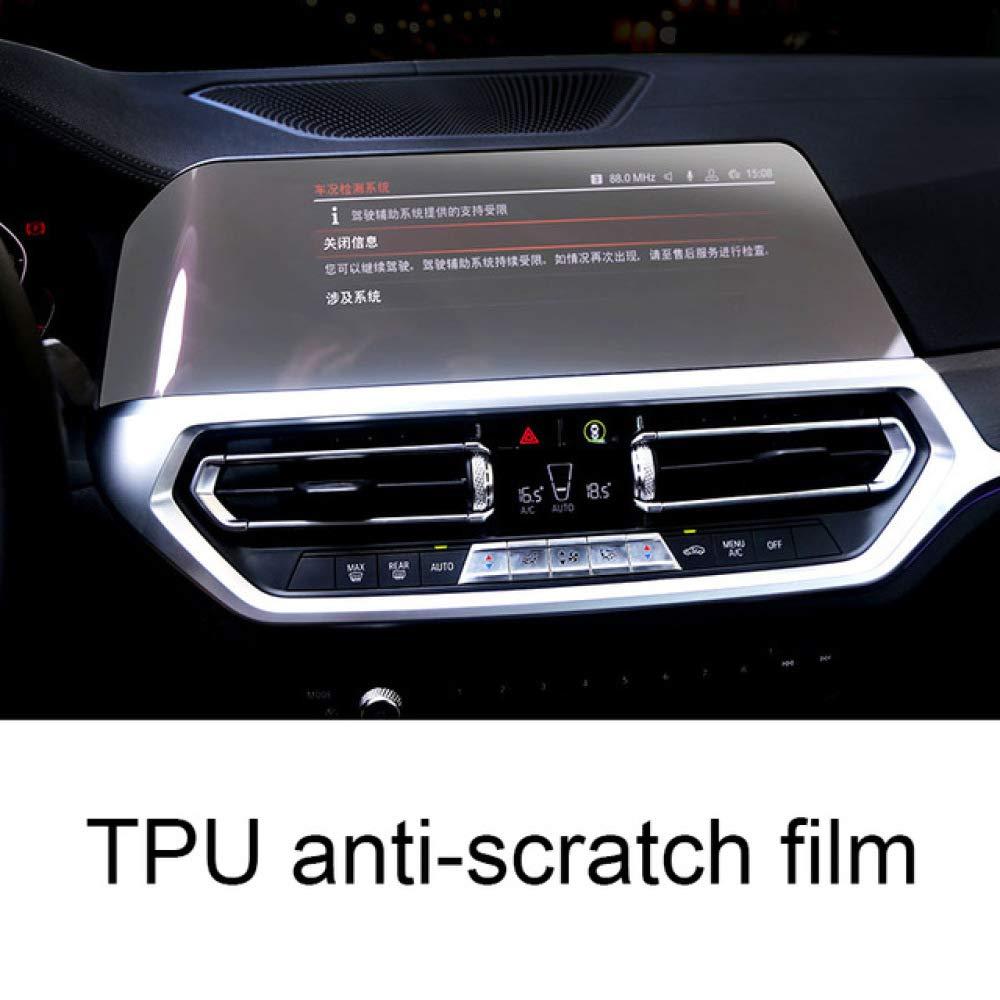 JNXZHDCJ Tablero de Instrumentos antiara/ñazos Pantalla t/áctil de navegaci/ón GPS Pantalla Protectora de pel/ícula templada./para BMW Serie 3 g20 320 330 325 335