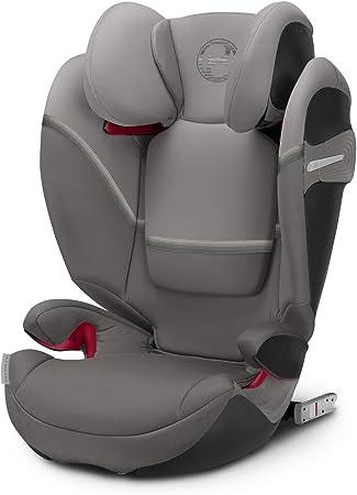 Oferta amazon: Cybex Gold - Silla de coche Solution S-Fix, para coches con y sin Isofix, Grupo 2/3 (15-36 kg), Desde los 3 hasta los 12 años aprox., Gris (Soho Grey)