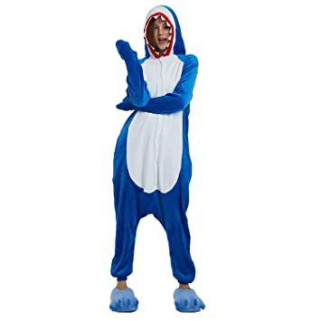 WhiFan Franela con Capucha Pijama algodón Unicornio Animal Pijama ...