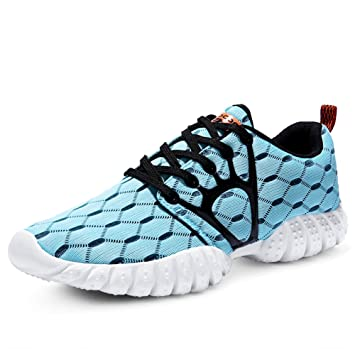 Amazon.com: FEETMAT Women's Mesh Sport Running Shoes: Sports ...