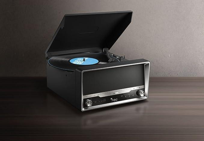 Philips OTT2000B/12 - Radio con Bluetooth (reproducción de vinilos ...