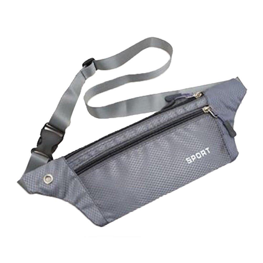 doitsa riñonera bolsillo Oxford Invisible cinturón de carrera bolsa de teléfono cinturón de viaje deporte y educativo para de alpinismo/Funcionamiento/equitación/alpinismo/trekking/pesca, color azul, tamaño 30*20*11cm