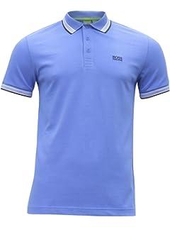 cdb5ab31 Amazon.com: Hugo Boss Mens Pitton 04 Polo Shirt Slim Fit Mercerised ...
