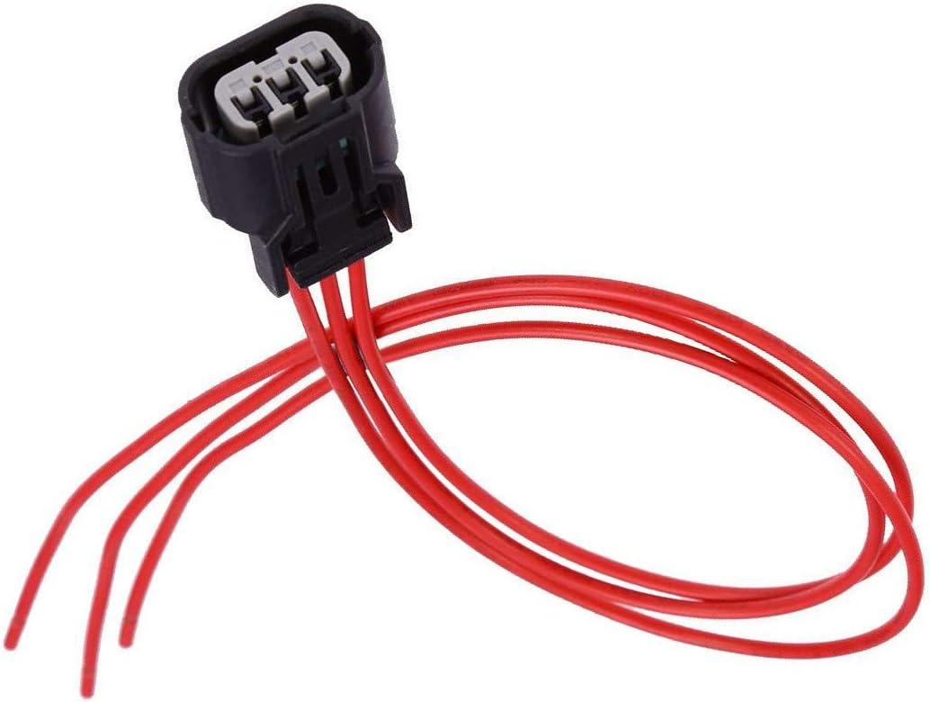Camshaft Crankshaft Crank Position Sensor Connector Plug Wire Harness Repair Kit For Honda Civic 2001-2005